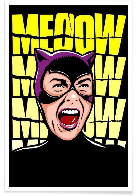 Psycho Cat Poster