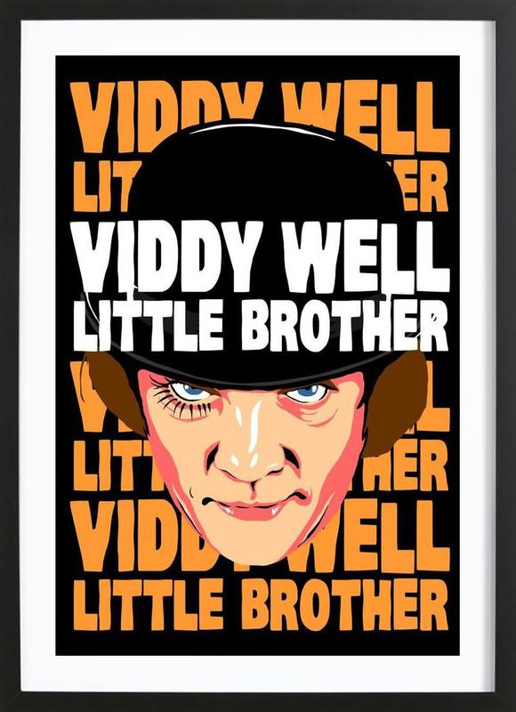 Viddy Well Little Brother Framed Print