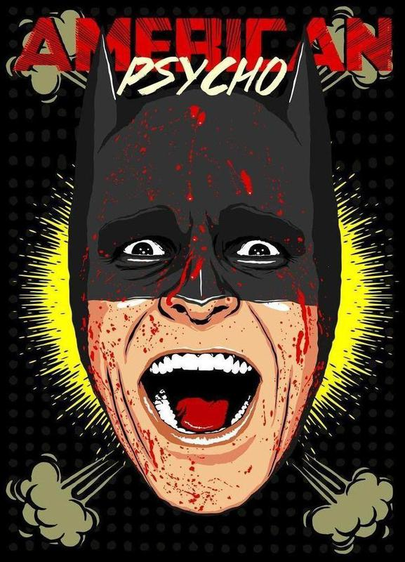 Gotham Psycho Canvas Print