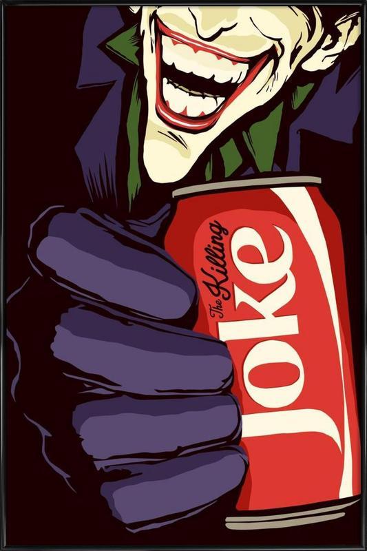Killing Joke -Bild mit Kunststoffrahmen