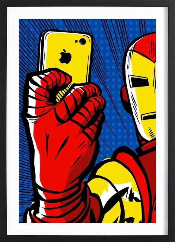 Stark Selfie Framed Print