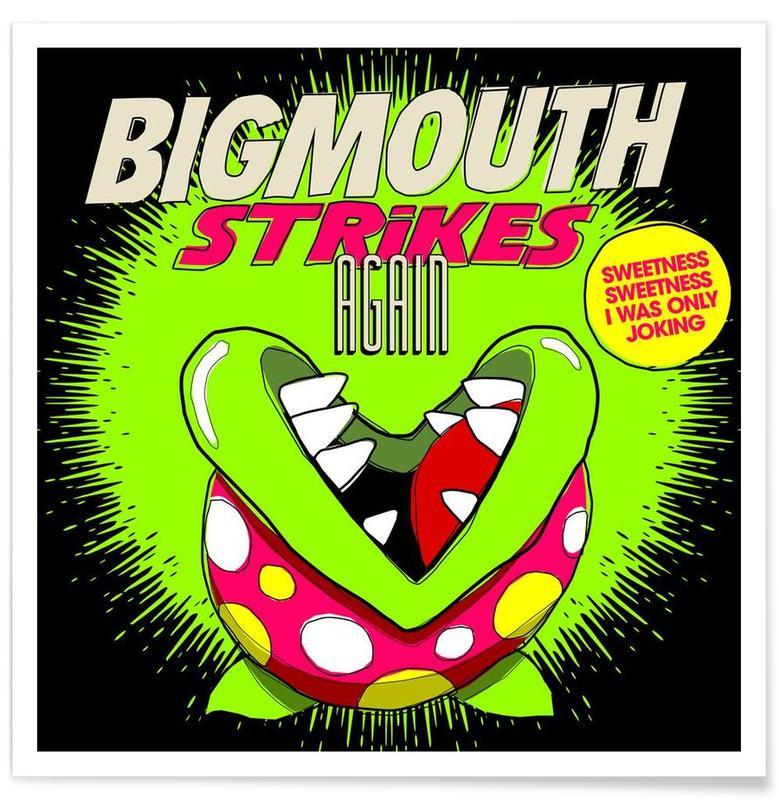, Bigmouth affiche