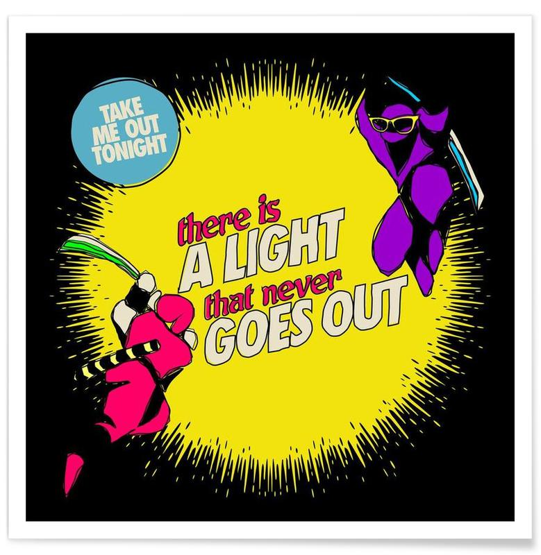 Pop Art, There Is a Light affiche