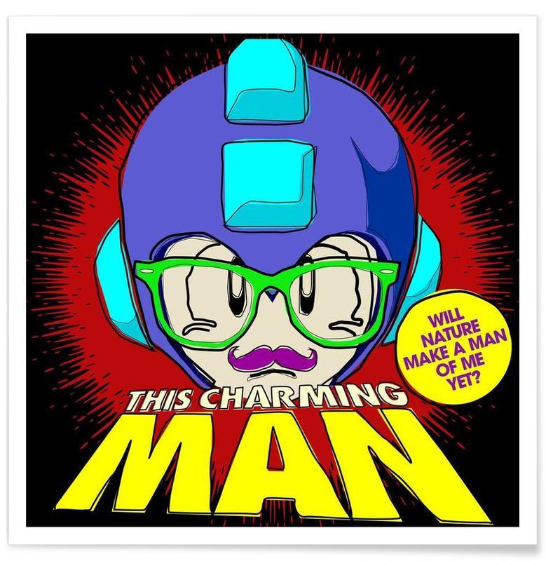 This Charming Mega-Man -Poster
