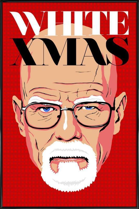 White Christmas Framed Poster