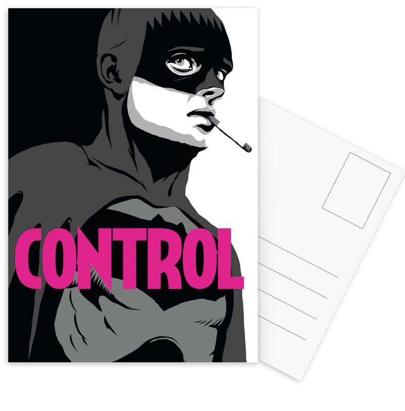 Popart, Films, Rock, Batman, Bat-Control ansichtkaartenset