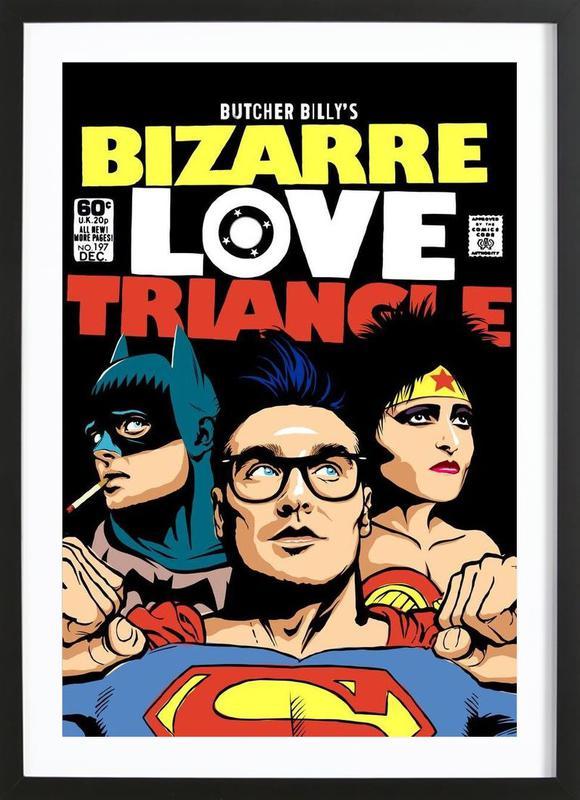 Bizarre Love Triangle Framed Print