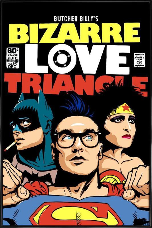 Bizarre Love Triangle affiche encadrée