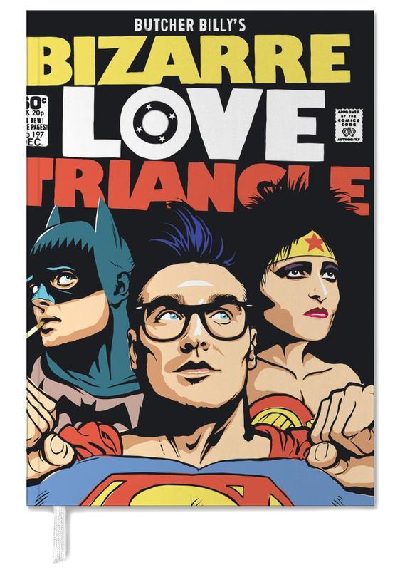 Bizarre Love Triangle Personal Planner