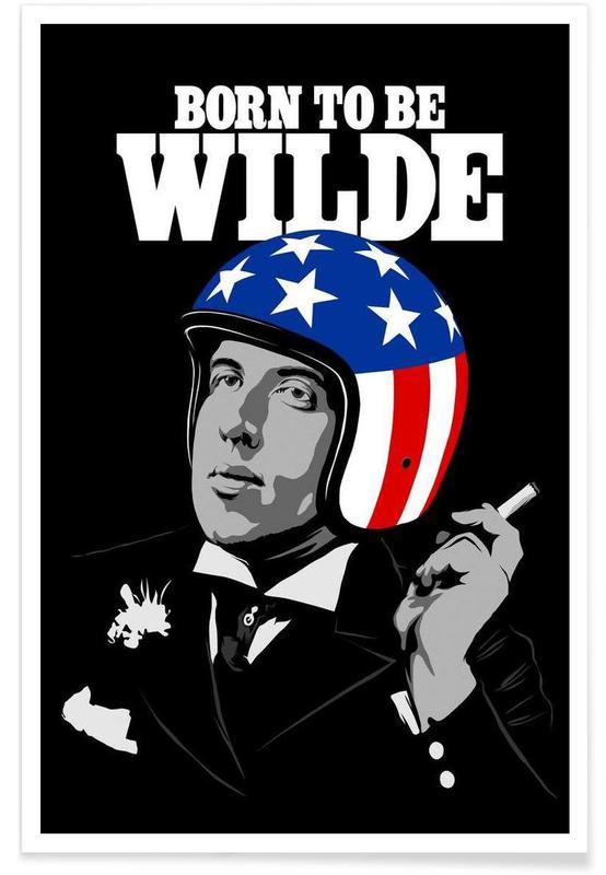 Pop Art, Born To Be Wilde -Poster