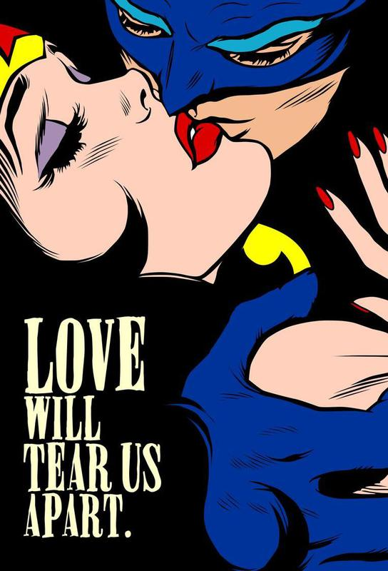 Love Vigilantes acrylglas print