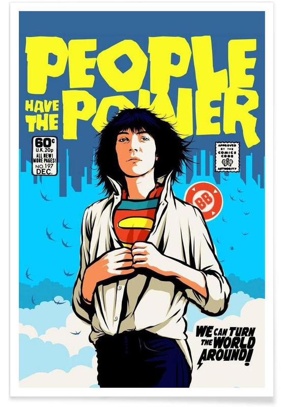 Pop Art, Power to the People -Poster