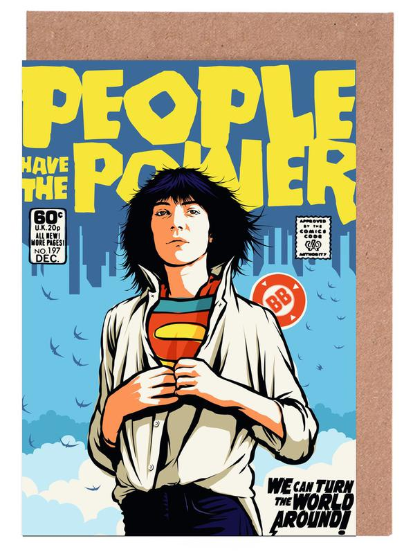 Power to the People Greeting Card Set