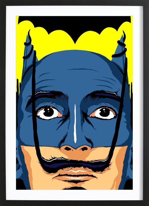 Dali Batman Framed Print