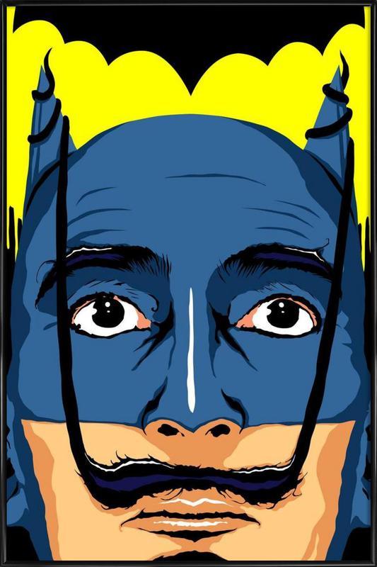 Dali Batman Framed Poster