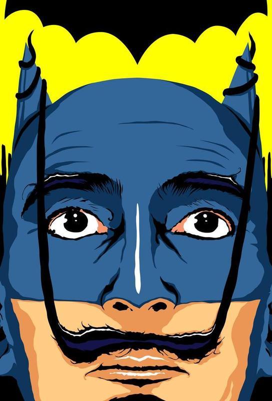 Dali Batman Acrylic Print