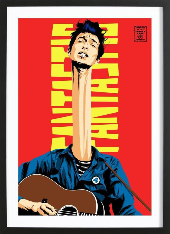 Dylan Mr. Fantastic Framed Print