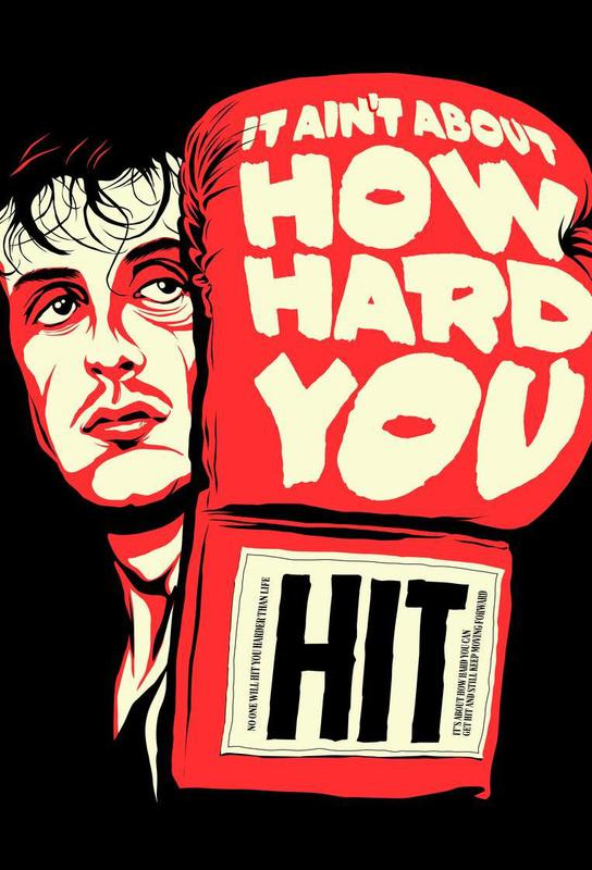 How Hard You Hit Acrylic Print