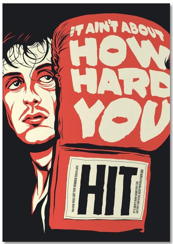 How Hard You Hit -Notizblock