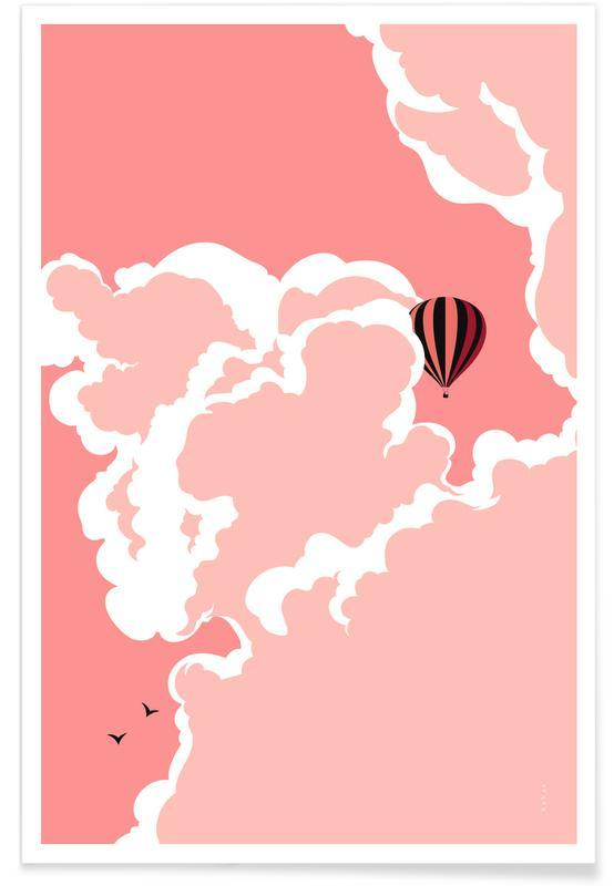 Ciels & nuages, Rêve, Pink Sky affiche
