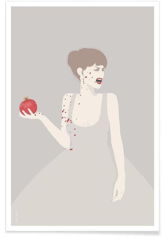 , Pomegranate Poster