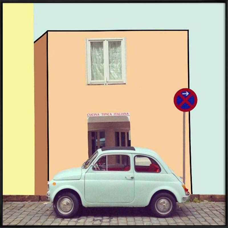 the italian's paradox Framed Poster