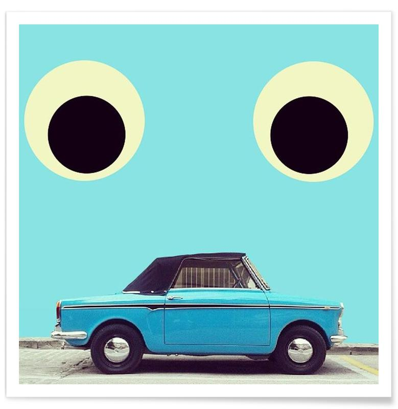 Autos, eyes say it all -Poster