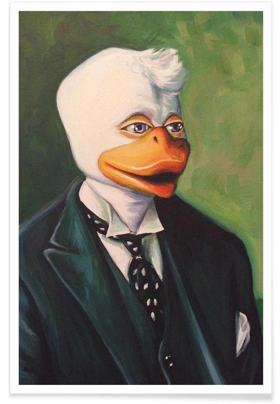 Howard The Duke -Poster