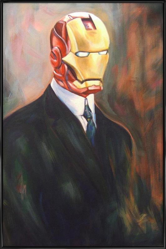Iron Monsieur ingelijste poster