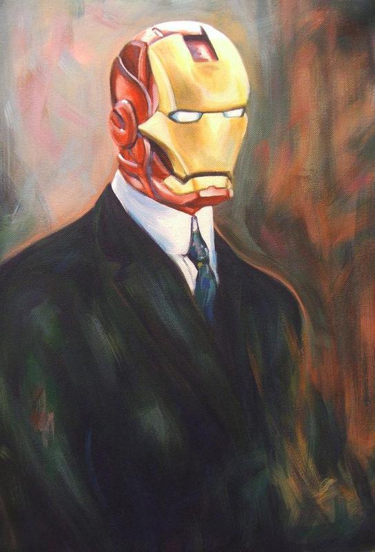 Iron Monsieur Acrylic Print