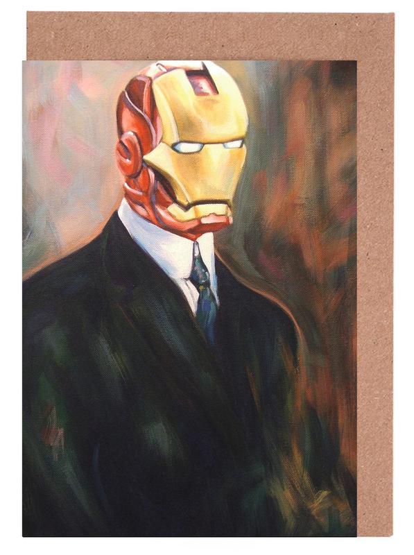 Iron Monsieur Greeting Card Set
