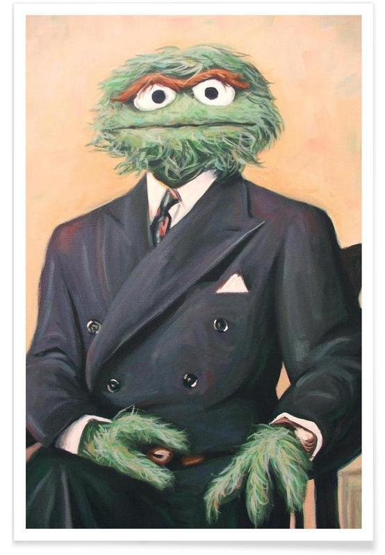 Sir Oscar Grouch -Poster