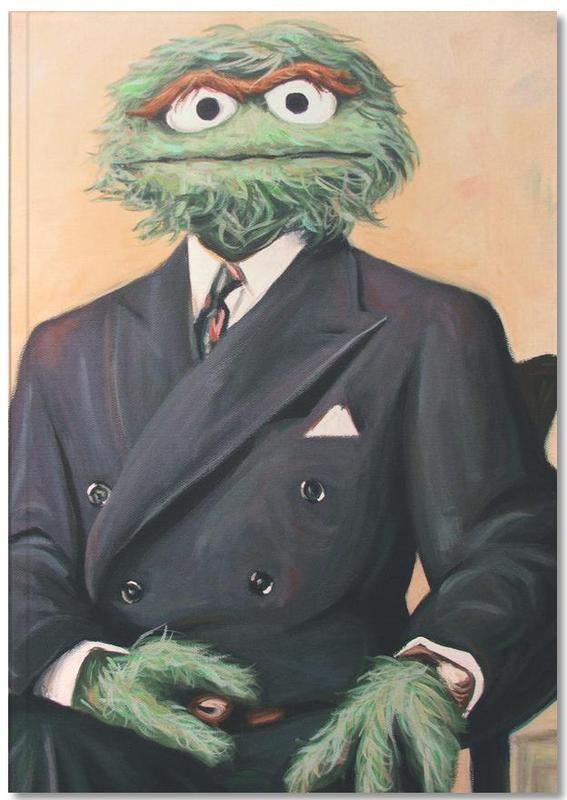 Sir Oscar Grouch Notebook