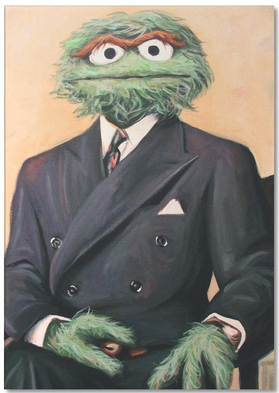 Sir Oscar Grouch bloc-notes