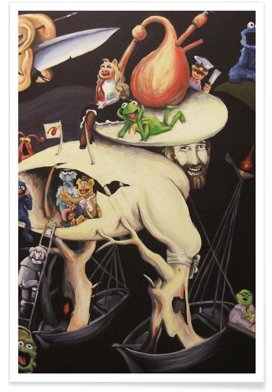 Garden Of Muppetly Delights -Poster