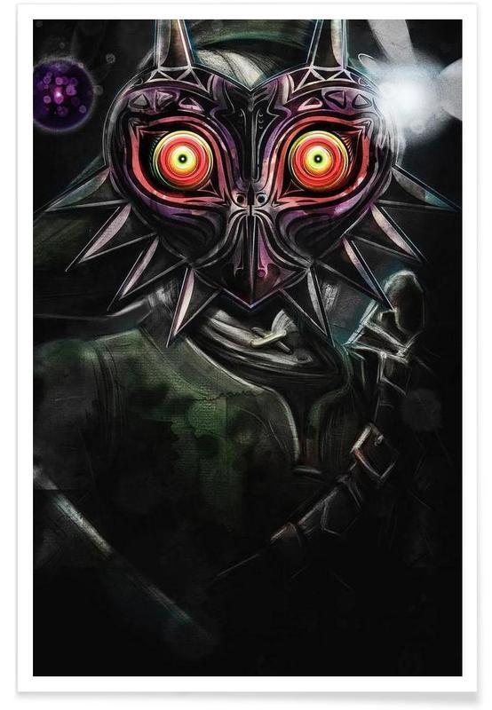 Majora's Mask Link affiche