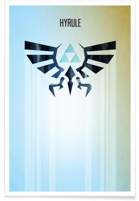 Créatures et hybrides, Hyrule Rising affiche