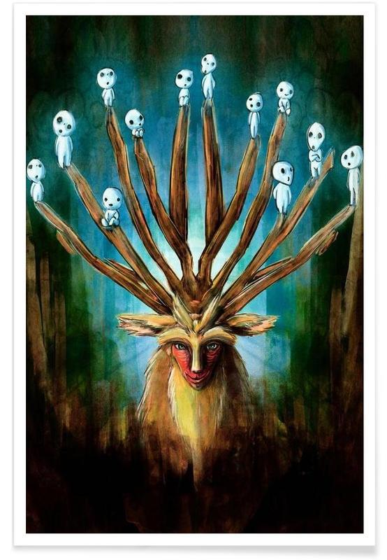 Deer God the Shishigami affiche