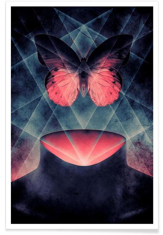 Butterfly Beautiful Symmetry -Poster
