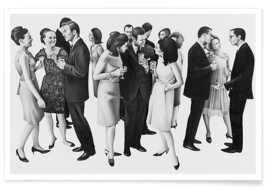 Rétro, Noir & blanc, Groupes, The Cold War affiche