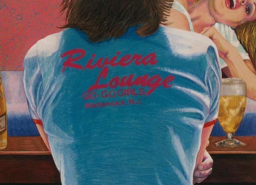riviera lounge Canvas Print