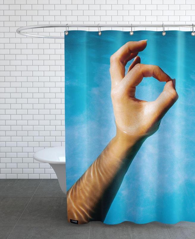 Hand rideau de douche