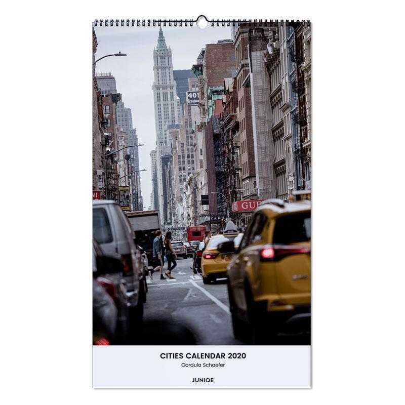 Cities Calendar 2020 - Cordula Schaefer calendrier mural