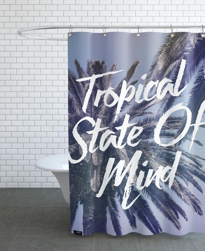 Tropical State of Mind Shower Curtain