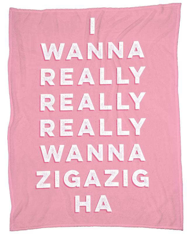 Zigazig -Fleecedecke