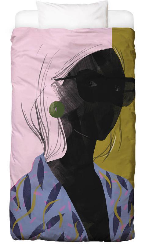 Girl in a Blue Kimono Bed Linen