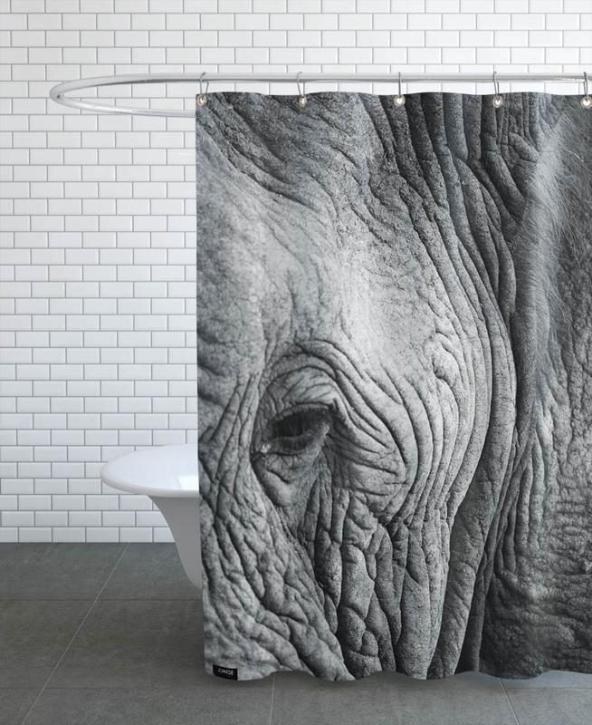 Nambithi Elephant 01 Shower Curtain
