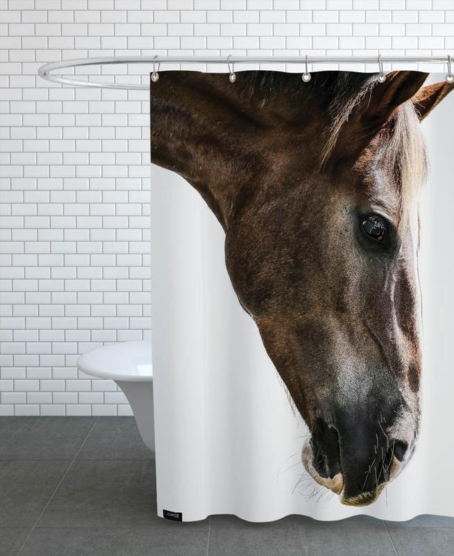 Pferde, Kalimazoo -Duschvorhang