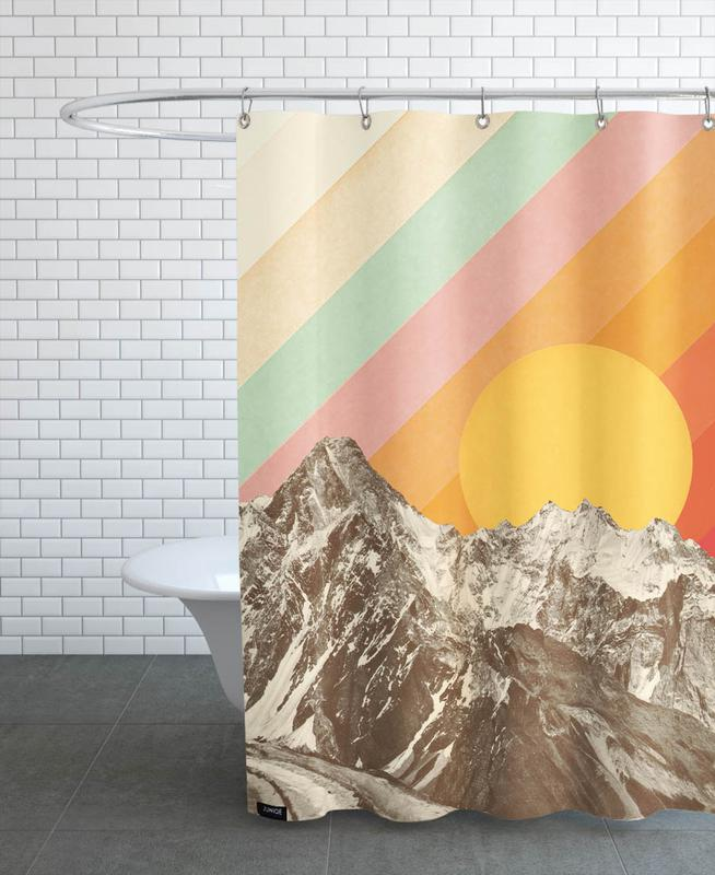Mountains, Mountainscape Shower Curtain