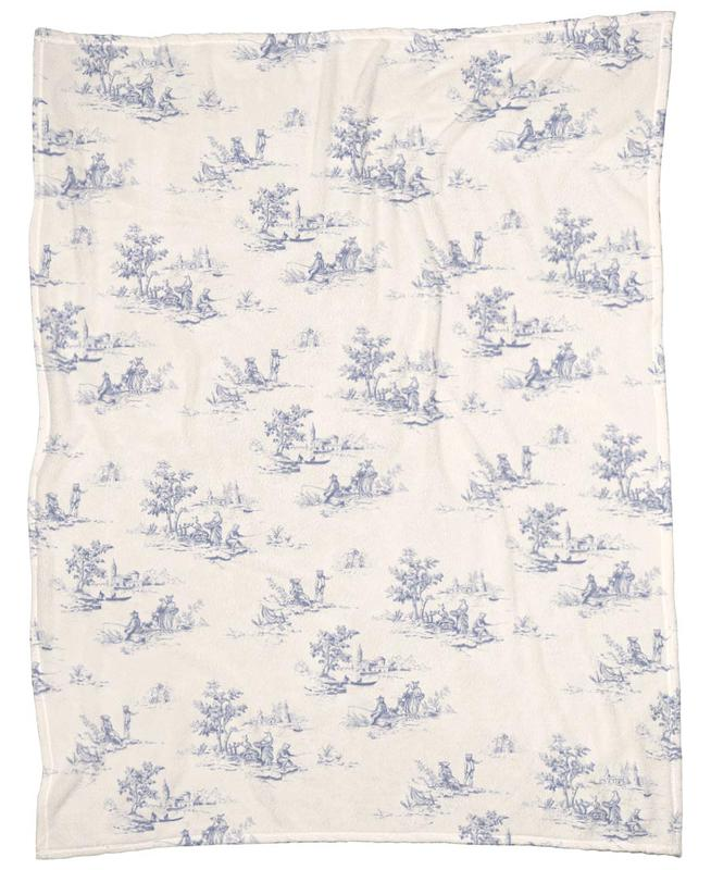 Animal Jouy Fleece Blanket